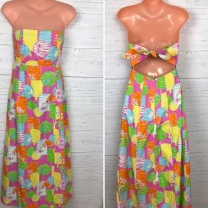 LILLY PULITZER CHINESE LATERN MAXI